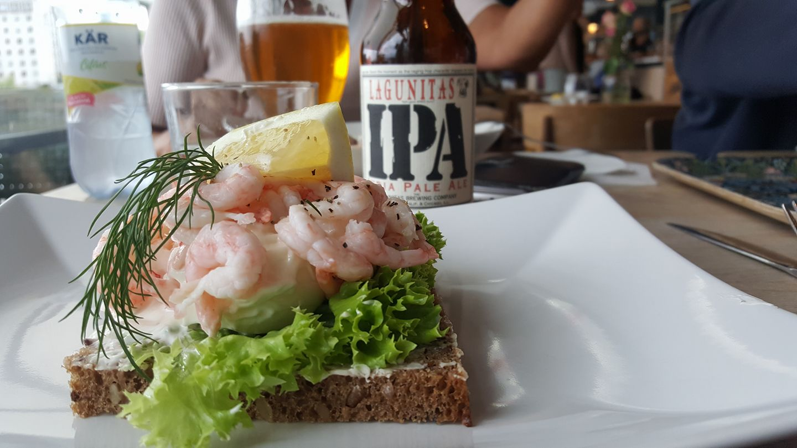 shrimp sandwich jönköping