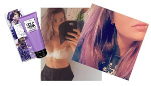 Loreal colorista purple result