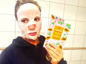 face mask from glossybox