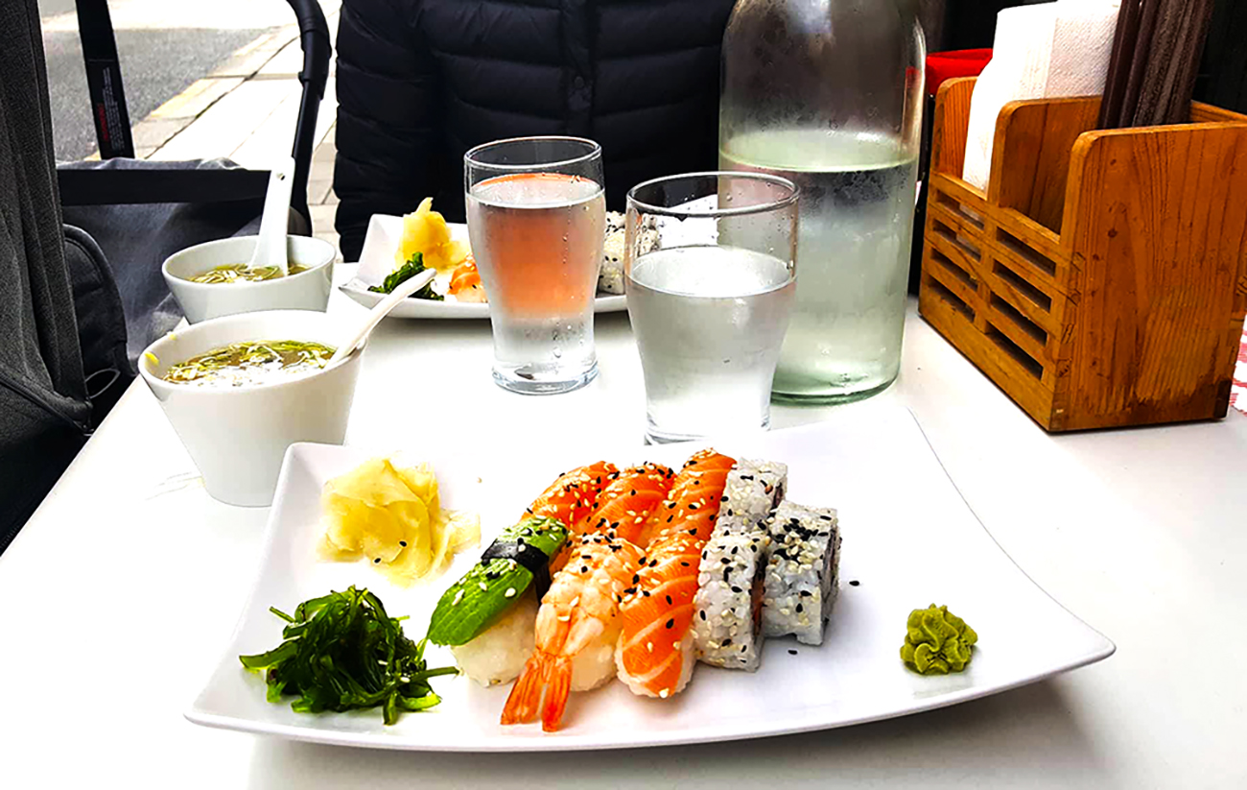 sushi at stockholm