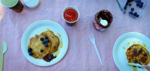 american pancakes breakfast