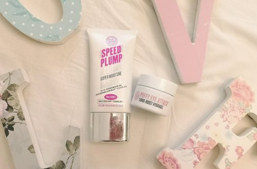 beauty products from soap and glory