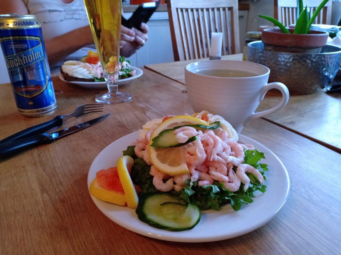 icas räksmörgås