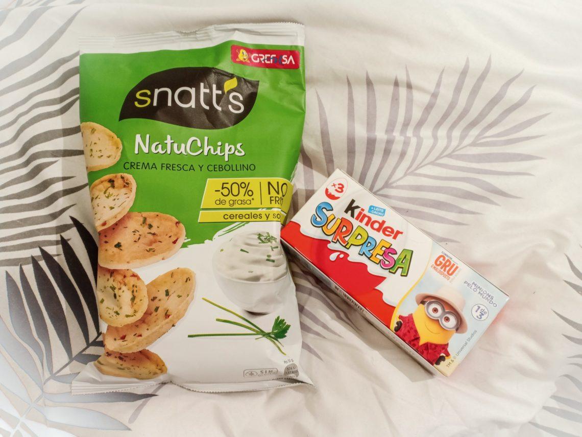 snacks i sängen