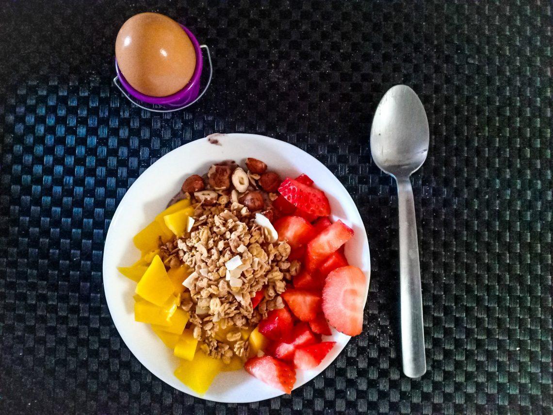 smoothie bowl till frukost