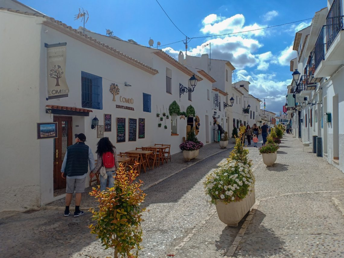altea old city
