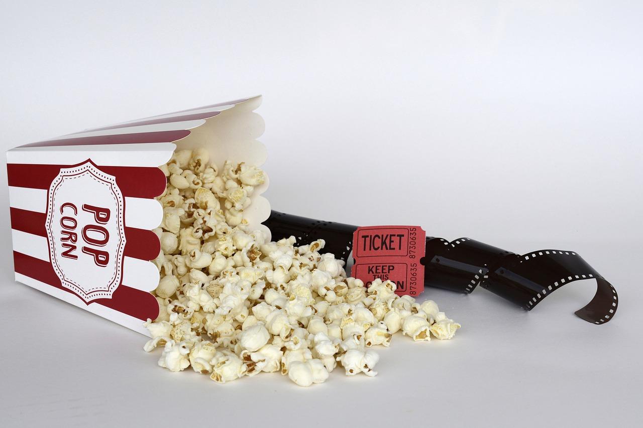 popcorn för bio