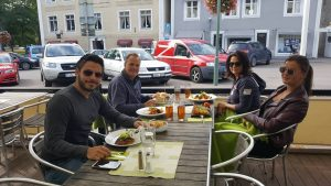 middag med familjen