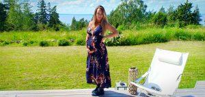 Midsommarklänning gravid