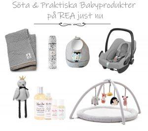 babyprodukter på rea