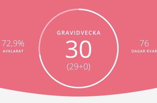 gravid vecka 30