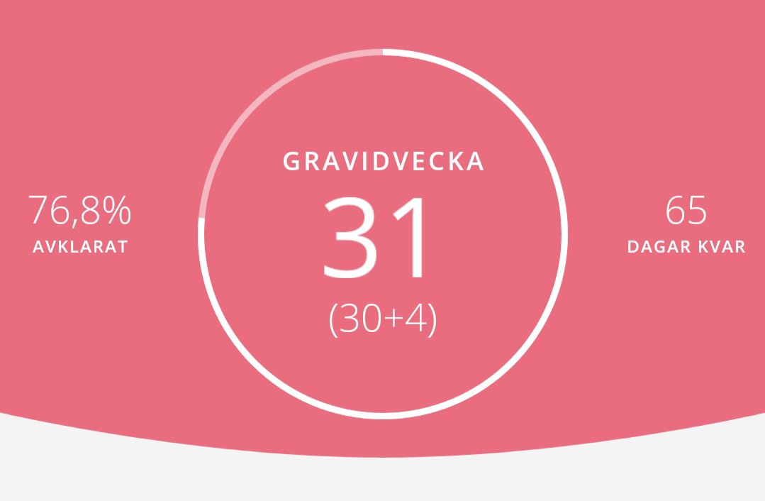 gravid vecka 31