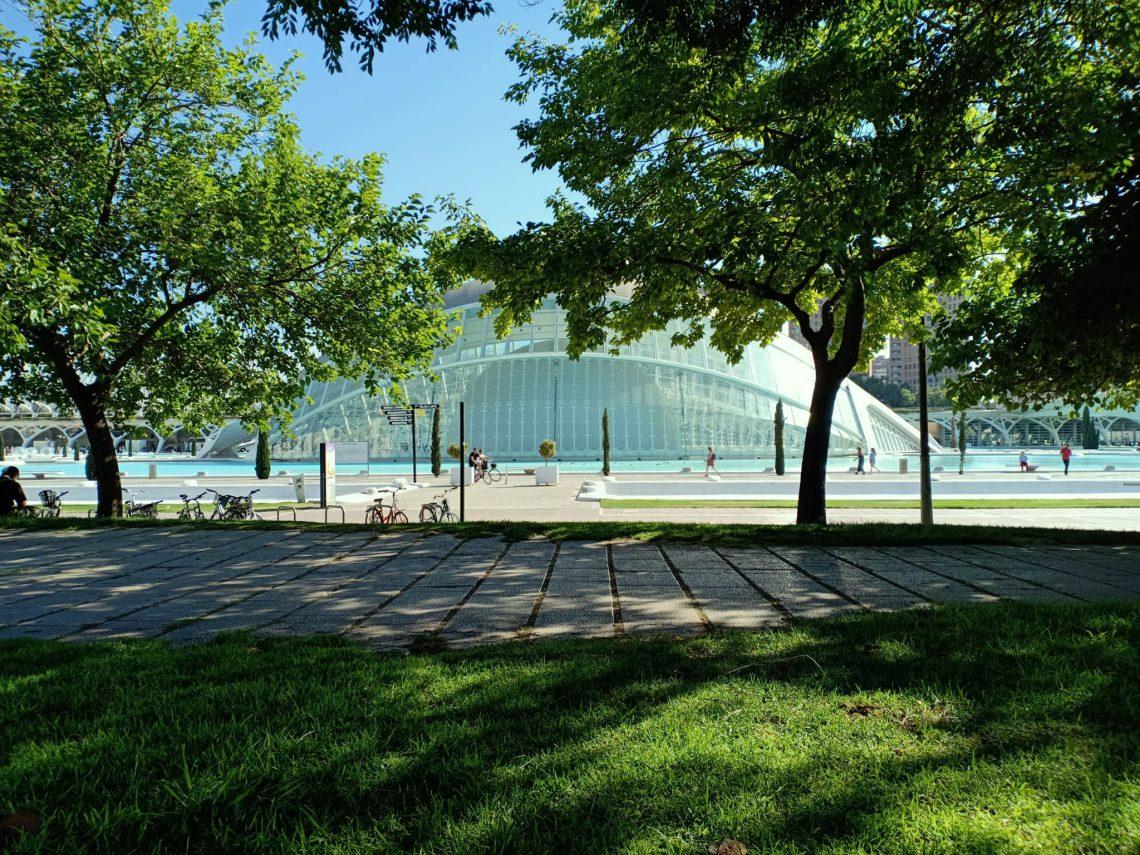 picknick i turia parken valencia