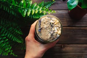 overnight oats med dadlar i
