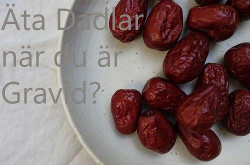 ät 6 dadlar om dagen som gravid