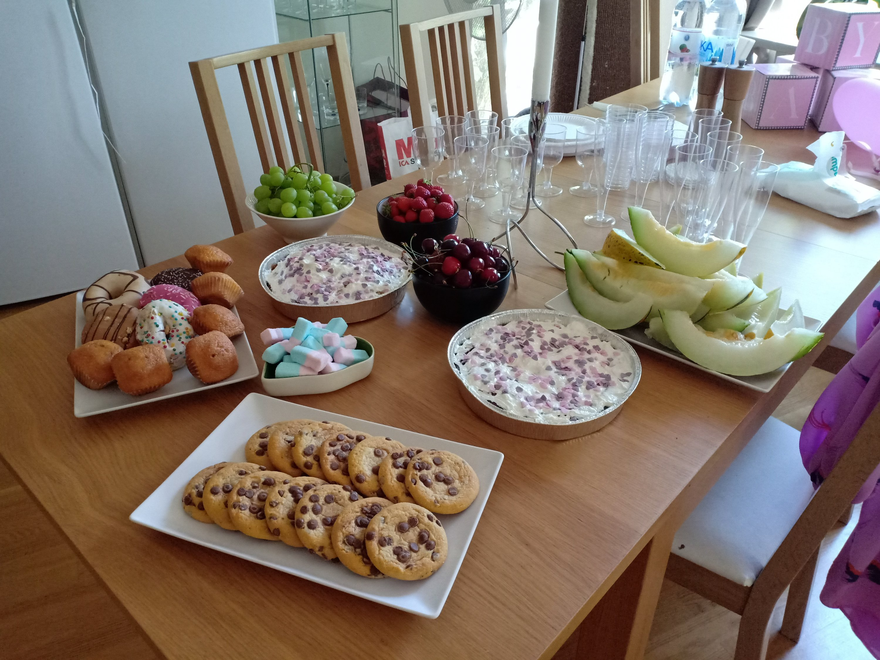 baby shower fika