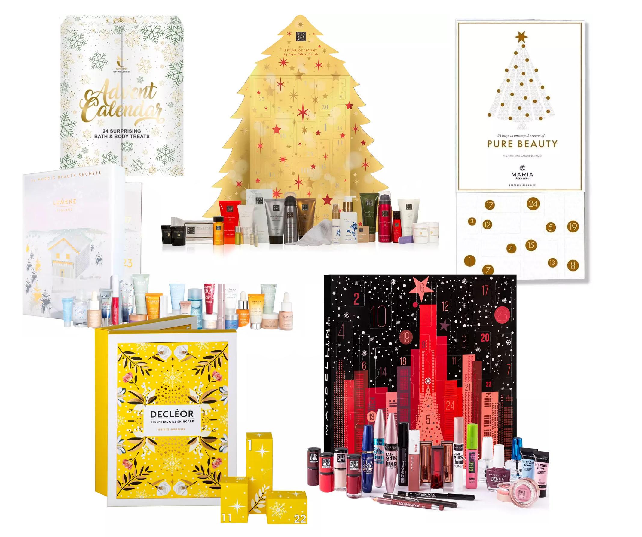julkalendrar skönhet 2019
