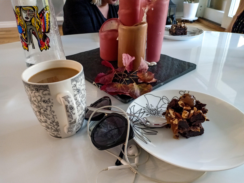 kaffe och rocky roads