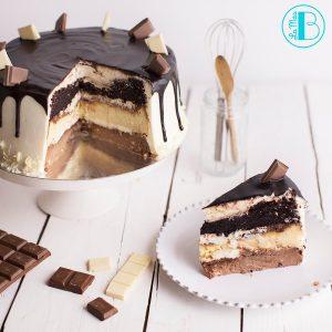 la mas bonita cake