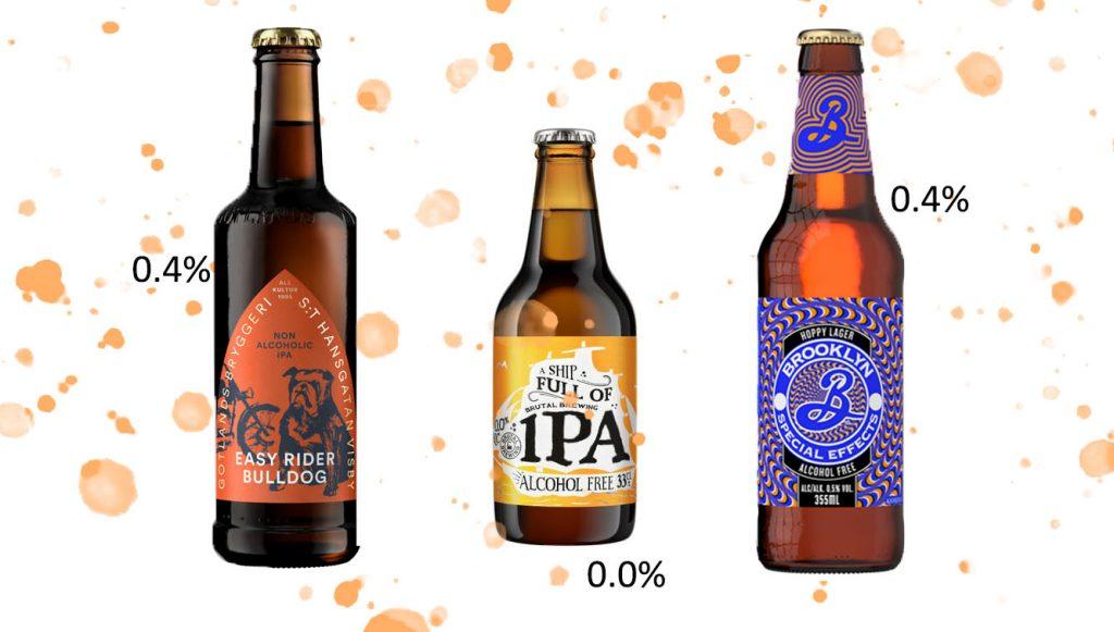 goda alkoholfria öl