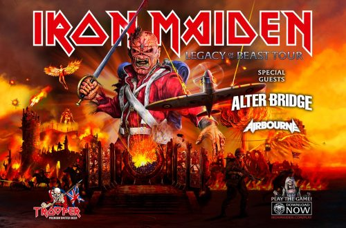 iron maiden ullevi 2020