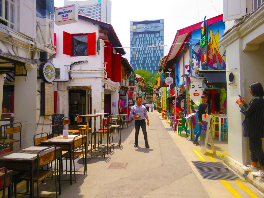 Haji Lane and Bali Lane