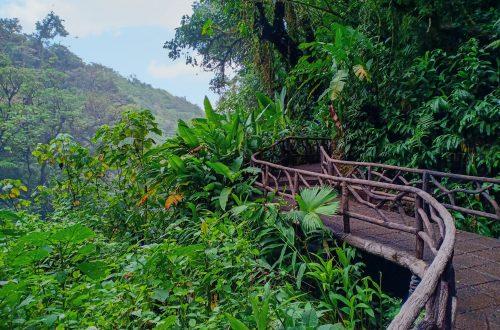 waterfall gardens costa rica