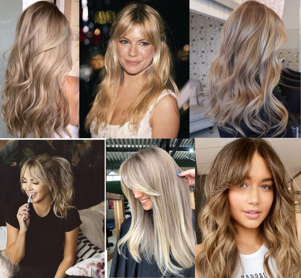 blont hår inspo